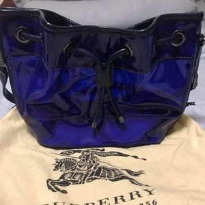Burberry clear cross-body bag 💯 authentic